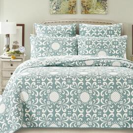 Cameron Green Bedspread Queen Bed