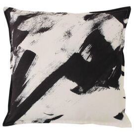 Abstract Black Cushion