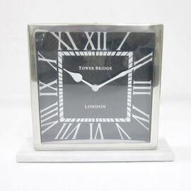Table Clock Black Face (LCK74)