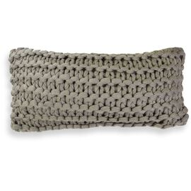 Meridian Chunky Oblong Cushion Mocha