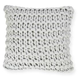 Meridian Chunky Square Cushion Silver