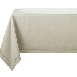 Langham Plain Table Cloth Taupe