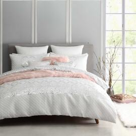 Palais White Quilt Cover Set