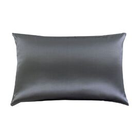 Silk Pillowcase Charcoal