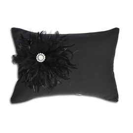 Trinity Oblong Black Cushion