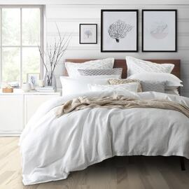 Tristan White Quilt Cover Set
