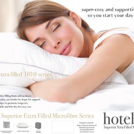 Superior Xtra Filled Microfibre Pillow