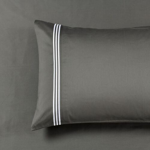 Standard Pillowcases ( PAIR ) -1000TC Charcoal