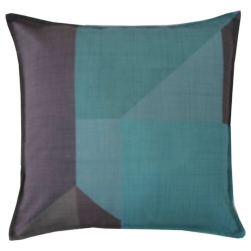 Eclipse Teal Cushion